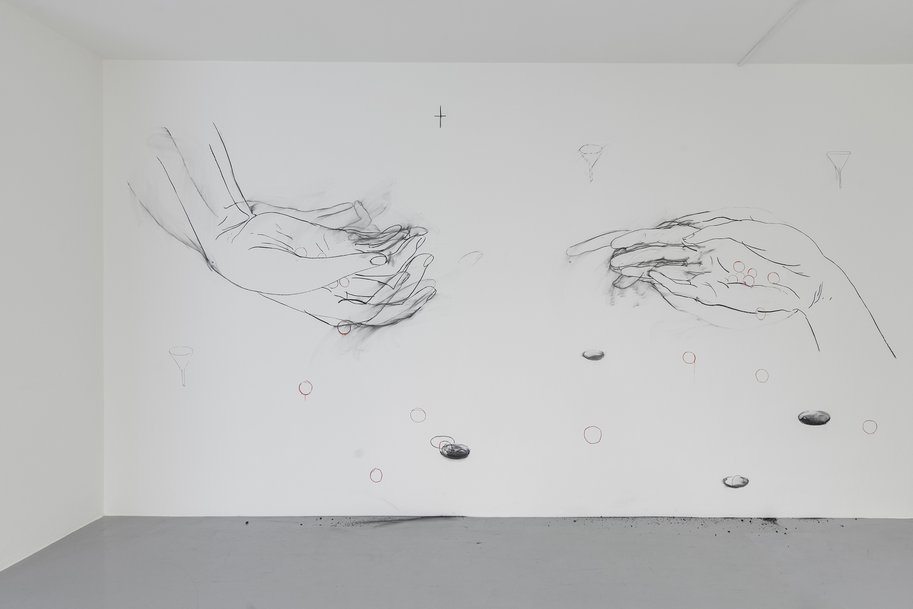 The Play of Pellet, drawing on the Wall